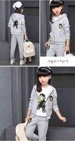 Wintergirls Giyim Setleri Çocuk Giyim Çocuk Küçük Karikatür Tavşan Setleri Kazak Pantolon Erkek Bebek Kız Tiny Kazak Örgü Shirtsvoty