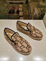Zapatos de mujer Horsebit Textured Wool Loafer Telas Caucho Missole Plano Home Shoe Deisgner Lady Check Tweed Walking 35-40