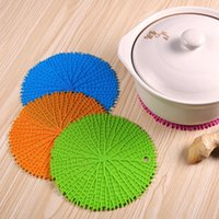 4 Pcs Set Table Silicone Pad Non-Slip Heat Resistant Mat Coaster Cushion Placemat Pot Holder Kitchen Accessories Cooking Tools