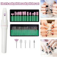 Nail Art Kits Electric Polisher Set Equipment Manicure Nails Grinder Tool For Home Salon SK88