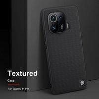 الحالات الهاتف الخليوي Nillkin-Funda Texturizada Para Móvil، Carcasa de Diseño AntideLizante Xiaomi 11 Pro Mi Lite، Funda Trasera for Ultra