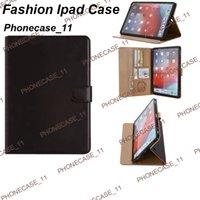 삼성 탭에 대한 패션 디자이너 케이스 ipad 2020year 12.9 Pro 11 AIR10.5 Mini123 Mini45 iPad10.2 클래식 가죽 카드 포켓 고급 태블릿 케이스 070550