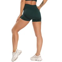 Nahtlose Yoga Shorts Fitness Womens Shorts Hohe Taille Energie Hip-up Strumpfhosen Workout Sportswear-Gymnastik-Laufen Sommer-Leggings