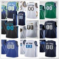 Таможенные марки для печатных баскетбол 77 Лука 6 Kristaps DONCIC Porzingis Tim 11 Cartaway Readick 0 Josh 8 Green Richardson Boban Marjanovic Jersey