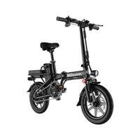 Vélo électrique pliant 14 pouces TIRE 48V Batterie au lithium Batterie électrique Mini moteurs à vélo à moteur Mobilité Y0913