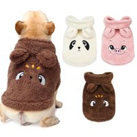 Dog Apparel Winter Clothes Warm Pet Puppy Fleece Coat Jacket Hooded Cute Clothing Costumes For Small Dogs Cats Chihuahua Outfit