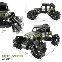 LBLA C1 Leichtmetalle RC Auto 2.4GHz 4CH 1:16 Stunt Drift Crawler Dual Entfernung Control 360 Sorten Flip Fahrzeug Spielzeug für Kinder