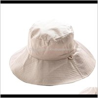 Caps Hats, Scarves & Gloves Fashion Aessoriesfashion Women Wide Brim Breathable Double-Sided Usable Sun Hat Fishermans Anti-Ultraviolet Hats