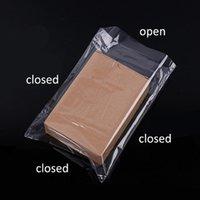 100pcs / lote PVC calor encogimiento película envoltura almacenaje bolsa de almacenamiento sello al por menor embalaje claro plástico plástico regalo cosméticos embalaje bolsa bolsa