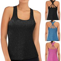 Yoga Outfit Sexy Backless Tank Tops For Women Sleeveless Sport Fitness T Shirt Workout Shirts Quick Dry Athletic Running Vest Lady