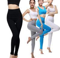 Gestalten Mode Sexy Frauen Yoga Outfits Elastische Leggings Hosen Spandex Verdicken Material Kleidung Running PT07 01