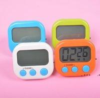 7 couleurs Digital Cuisine Timer Minuères Multi-Fonctionnement Comptez sur le bas de l'œuf électronique Timer-Cuisine de cuisine LED Affichage Timing Rappel de rappel LLA8487