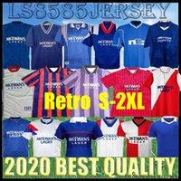 Retro 87 88 Glasgow Rangers Soccer-Trikots 82 83 84 87 90 92 93 94 95 96 97 99 01 08 09 Vintage Gascoigne Laudat Football Hemden McCoist NE