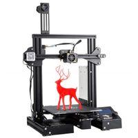 Creality oficial Ender 3 Pro DIY Impressora 3D com placa de superfície de construção removível Tamanho de impressão 220x220x250mm + 1 ano de garantia