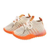 Sneakers Kids Shoes Casual Fashion Breathable Non-slip Boys Girls Students Running Baby Knitted Socks Four Seasons Shoe
