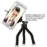 Telefone celular monta suportes esponja octodo tripé universal móvel self timer po f shoot set suportes