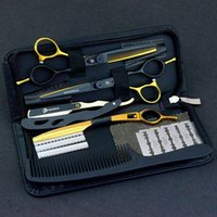 "Hair Scissors 5.5 6.0"" Sale Japanese Professional Shears Hairdressing Barber Thinning Hairdresser Razor Haircut"