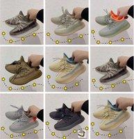Bebek S Kanye 3m Earth Bagaj Kapağı Zyon Batı Çocuk Koşu Ayakkabıları Kılıcı Keten Yansıtıcı Lundmark Küçük Erkek Kız Toddlers Sneakes Wisdonm