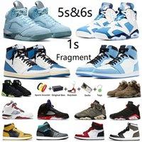 баскетбольные кроссовки Air Jordan Jumpman 6 UNC 5s Bluebird 1s Court Purple University Blue Hyper Royal Twist 6s Electric Green мужские и женские спортивные кроссовки с коробкой