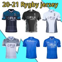 NOUVEAU 2020 Fidji Jersey de rugby Fijians 2021 Polo Chemise National Rugby League Shirt Fidji Sevens Top Taille Top S-5XL
