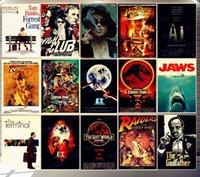 2021 Klasik Film Metal Boyama İşaretleri Duvar Posteri Teneke Işareti Plak Vintage Oturma Odası Dekor Bar Pub Club Man Mağarası için Ev Sanatları Plaka Boyutu 20x30 cm