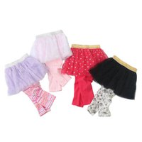 Newborn Leggings Baby Pants Girls Pantskirt Clothes Lace Skirt Spring Autumn Children Infant Clothing B6352
