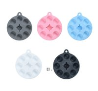 AirTag Silicone Case Protective Cover Shell with Key Ring Airtags Smart Bluetooth Wireless Tracker Decompression HHB7836