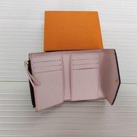 Moeda de couro de alta qualidade bolsa chaveiro carteiras clássicas M41938 Moda Designer Mens Pequeno Alterações de Alterações Carta Letra Womens Bolsa de Luxo UNISEX Carteira com caixa