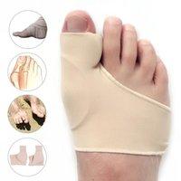 Supporto alla caviglia 1 Pair Bunion Corrector Gel Pad Stretch Nylon Hallux Valgus Protector Guard Guard Separator Ortopedico