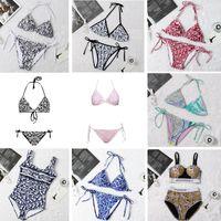 MEZCLA DE MODA 21 Estilos Mujeres Trajes de baño Bikini Set Multicolor Tiempo de verano Playa Bañado Trajes de baño de viento de alta calidad