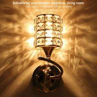 Wall Lamp Modern Crystal Light Living Room Corridor Balcony Sconce For Home Ligting Bathroom