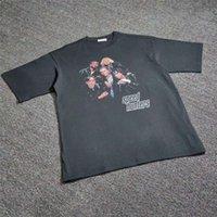 특대 18FW Speedhunters T 셔츠 남성 여성 11 고품질 탑 티 스트리트웨어 스피드 런트 티셔츠