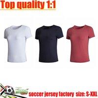 W12 여성 훈련 조끼 여름 편안한 훈련 시리즈 통기성 스포츠 간단한 짧은 소매 탑 티셔츠 맞춤형 스포츠웨어