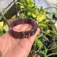 Beaded, Strands Natural Amethyst Purple Phantom Quartz Rutilated Super Seven Auralite 23 Square Beads Crystal Healing Stones Women Jewelry