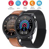New Smart Watch E80 Men Women Temperature Measurement IP68 Waterproof PPG+ECG Heart Rate Monitor Fitness Tracker Smartwatch