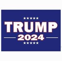 Trump adesivos de carro 2024 US Campanha presidencial Trump adesivo 14.8 * 21cm pvc tags trunfo 2024 adesivo de carro decoração de carro hwf5849