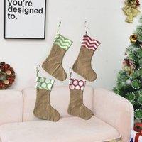 Noel Çorap Çocuk Geleneksel Noel Çantası Pencere Şömine Noel Süslemeleri Parti Malzemeleri Hediyeler için