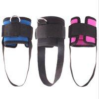 1 шт. Фитнес Регулируемые D-кольцевые лодыжки для лодыжки для лодыжки для ног Поддержка нож для защиты от пряжки Спортивные ноги