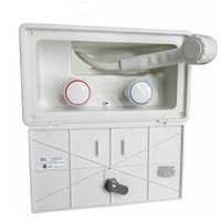 RV Camper Van Accessories External Shower Box Cold Switch Boxes With Lock And Key ATV Parts