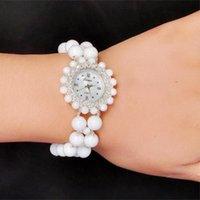 Armbanduhren Explosion Rosa Kristall Armbanduhr Quarz Dekorative weibliche Modelle wasserdichte Damen