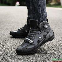 أحذية الرجال / النساء الكاحل قاطرة موتوكروس سباق الأحذية قبالة الطريق دراجة الأحذية الذاتي قفل خفيفة رياضية ركوب الدراجات