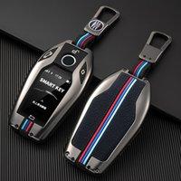 مفتاح السيارة حالة تغطية حقيبة مفتاح لسيارات BMW 1 3 5 7 سلسلة X1 X3 X5 X6 X7 F30 G20 F34 F31 G30 G01 F15 G05 I3 M4 اكسسوارات السيارات