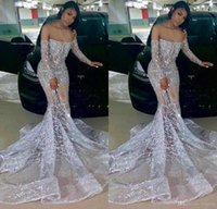 Sirena de plata vestidos de fiesta con cuentas apliquen encaje de cristal vestido de noche de manga larga africano de ilusión de hombro fiesta vestigios de