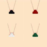 Vierblad Klaver Womens Designer Hanger Ketting Classic 18-Karat Gold Lucky Four Leaf Clovers Kettingen Stijlvolle Persoonlijkheid Gift voor LOVES