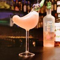 150 ml Kreative Vogel Form Cocktail Becher Glas Persönlichkeit Molekulare geräucherte Modellierung Vase Fantasy Weingläser
