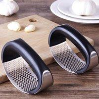 Edelstahl Küchengeschirrkasten Extruder Hand Gehalten Ingwer Knoblauchscheibe Schleifwerkzeug Küche Einfaches Werkzeug
