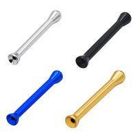 Aleación de aluminio Sniff Sniffer Sniffer Snorter Nasal Fumar Tubo Snuffer Nazal Bullet Accesorios