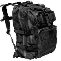 Tactical Backpack Increased 3p Attack Bag Black Outdoor Field Mountaineering Equipment Bag Water Waterproof