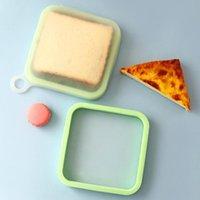 Силиконовый сэндвич тост бенто коробка открытый портативный многоразовый обед Assonoontea студенческий офис кухонный инструмент для хранения бутылок бутылок
