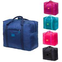 Duffel Bags Большая емкость Складной Путешественник Тур Упаковка Duff Организаторы Водонепроницаемые Нейлоновые Портативные Сумки Багаж